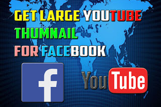 How to Get Big Thumbnail  while sharing the Youtube Video Link In Facebook